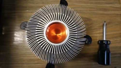5 - Dissipatore CPU pulito