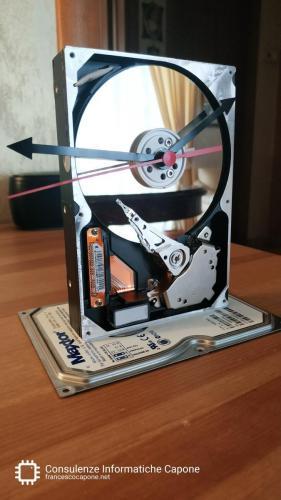 Hard disk orologio